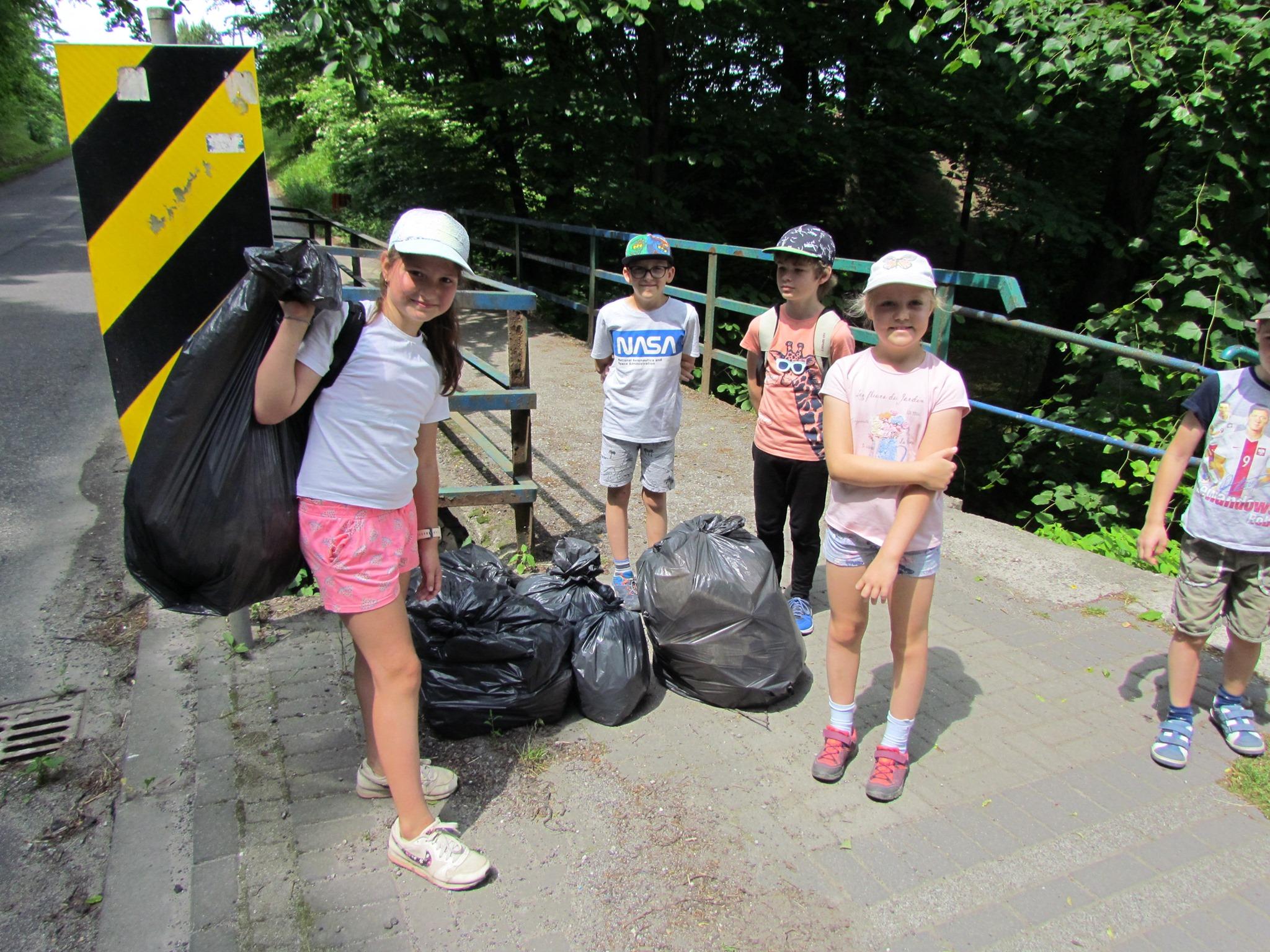 Wielkie Sprzątanie Jaworze, akcja Śmieciobranie, 12 czerwca 2021